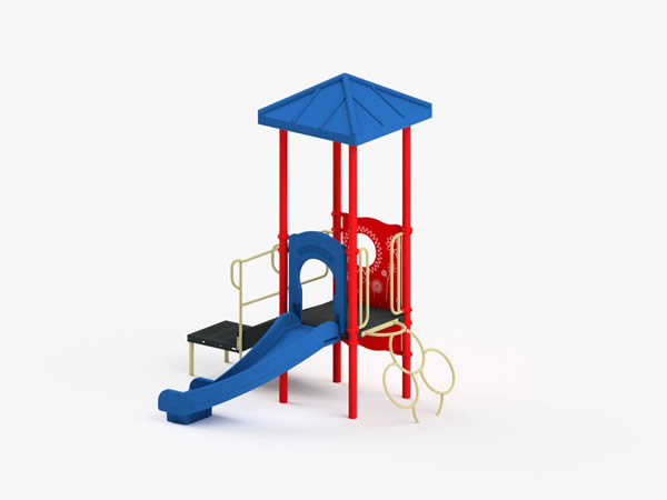 Quick Ship Playground Equipment - Structure 1