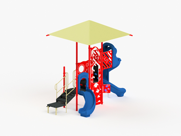 Quick Ship Playground Equipment - Structure 3